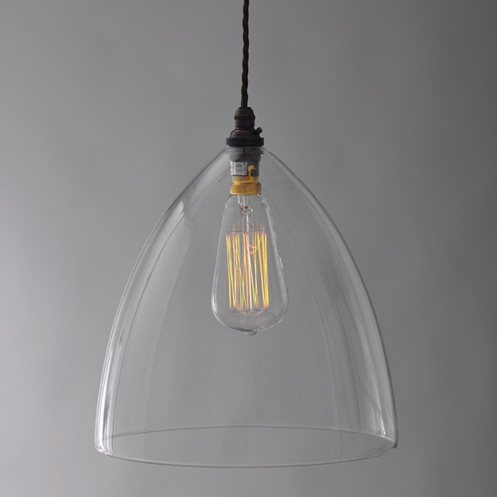 The ledbury glass pendant the fritz fryer collection Modern pendant lighting