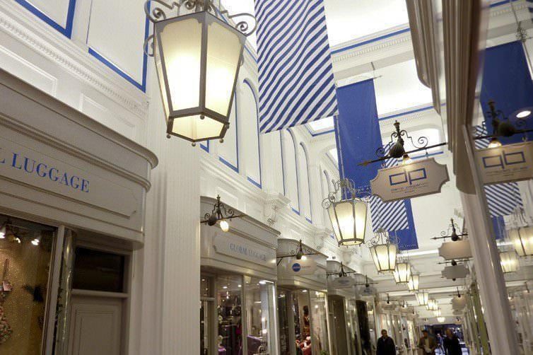 ANTIQUE LIGHTING RESTORATION AT THE HISTORIC PRINCES ARCADE, PICCADILLY