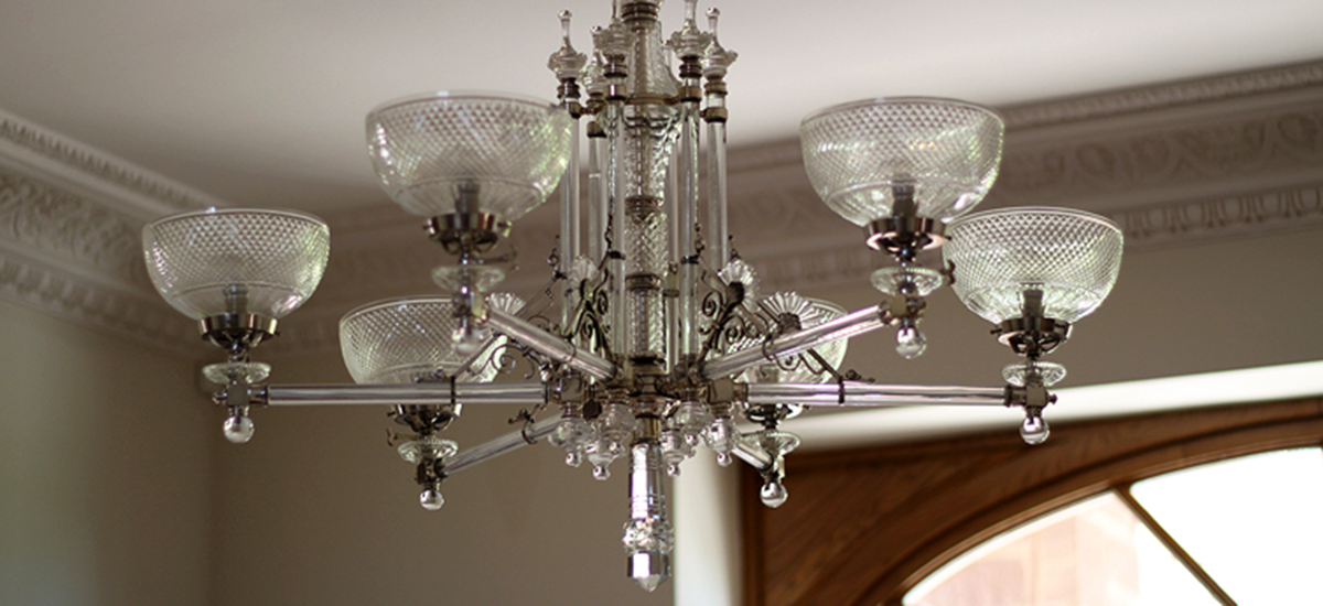 LIGHTING DESIGN AT A COUNTRY HOUSE