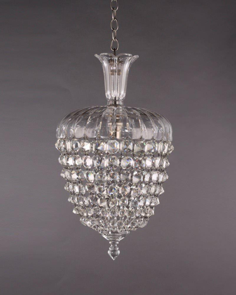 Antique Crystal Bag Chandelier