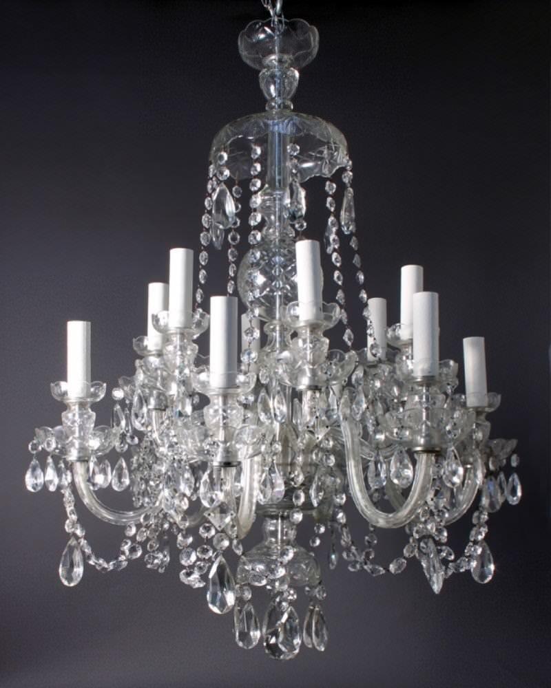 Antique crystal chandelier fritz fryer - Images of chandeliers ...