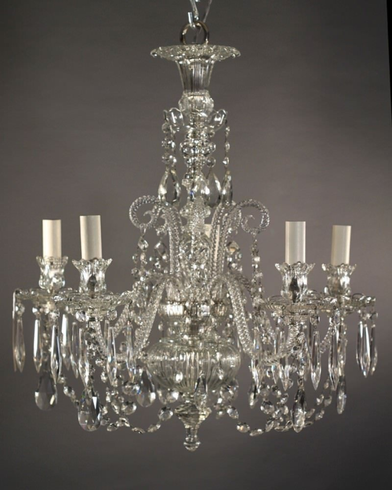 Crystal chandelier english antique crystal chandelier english arubaitofo Image collections
