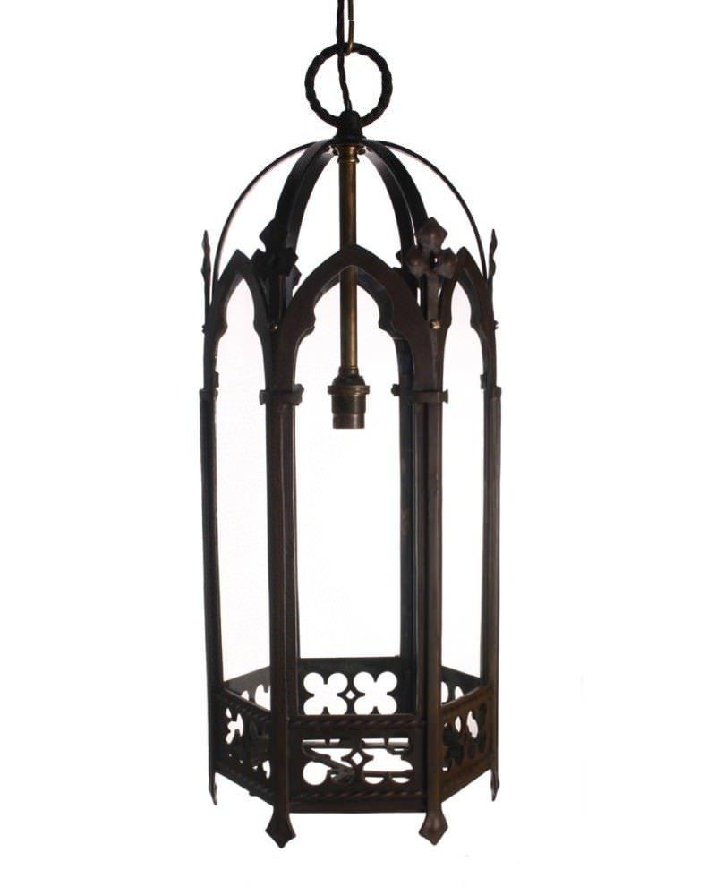 Antique Gothic Lantern Fritz Fryer