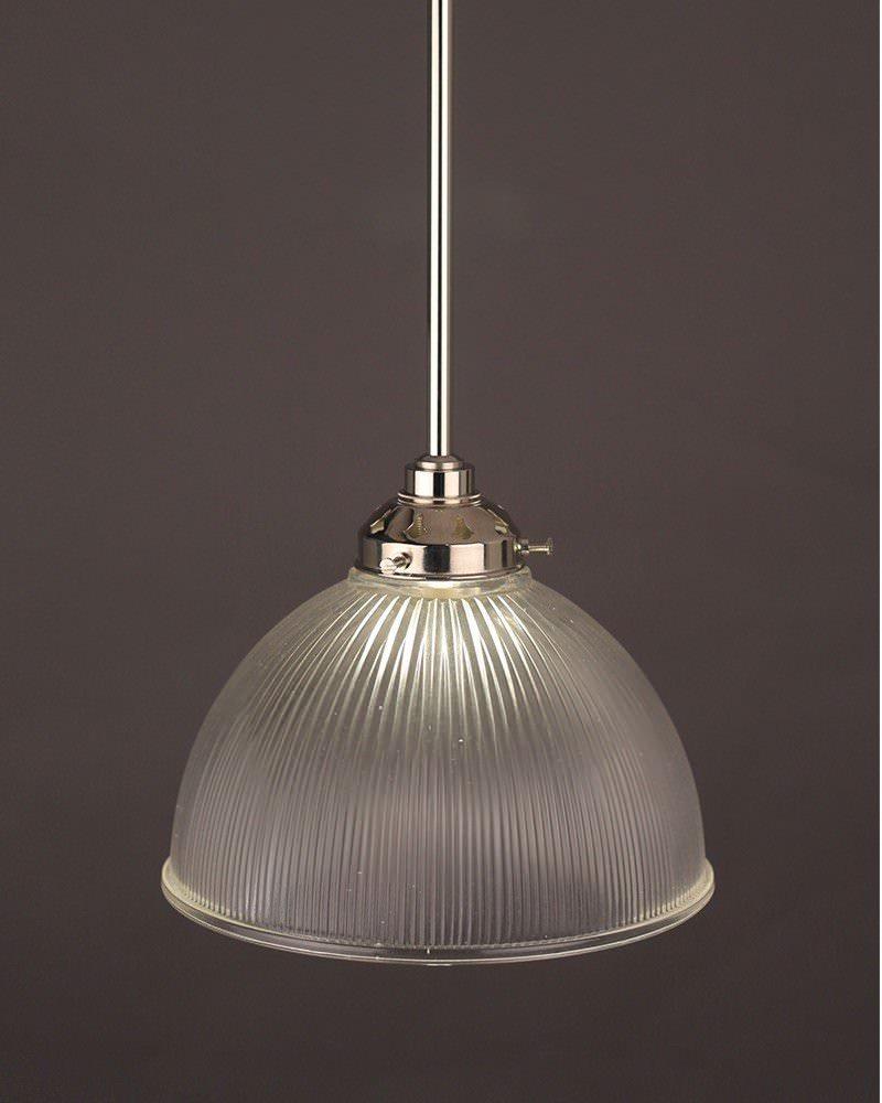 Designer Lighting Carey Prismatic Clear Glass Bathroom Ceiling Light