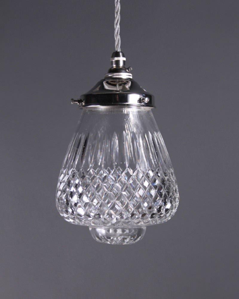 Cut Crystal Pendant Light Fritz Fryer