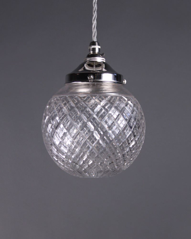 Pendant Lighting With Crystals