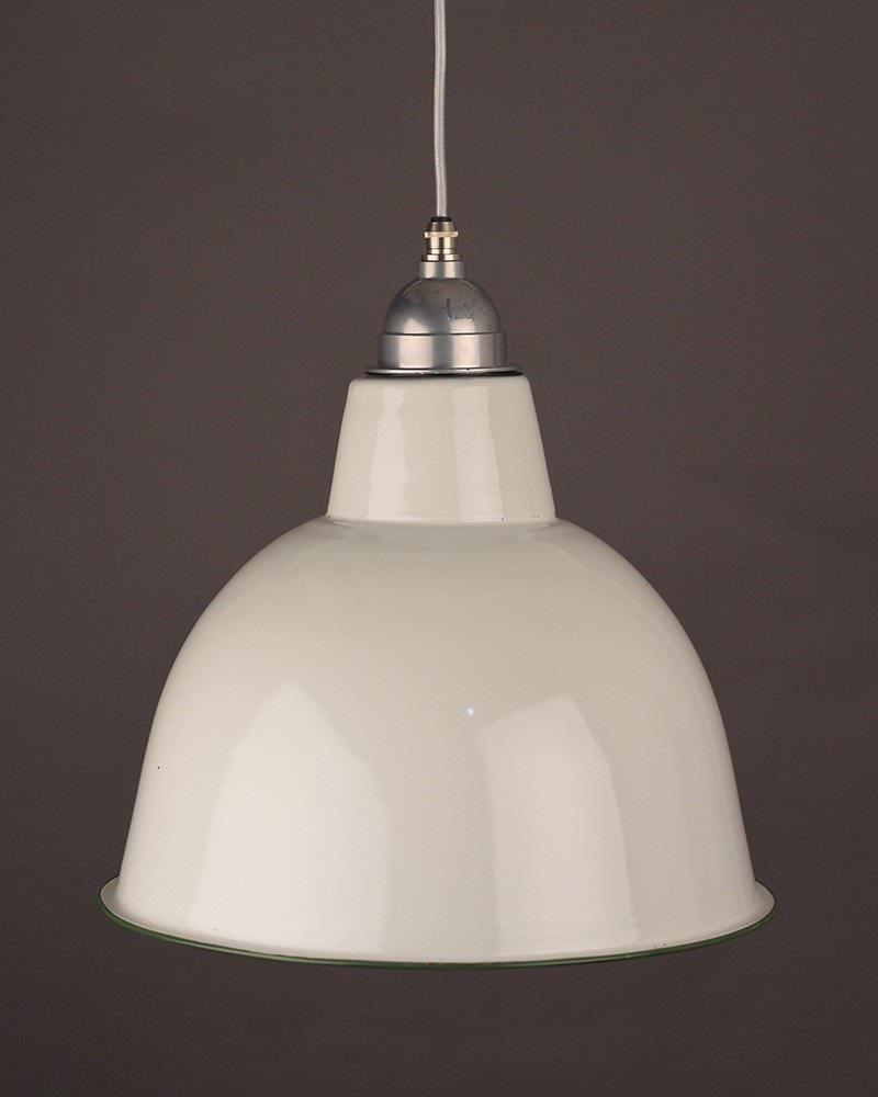 enamel pendant light fritz fryer