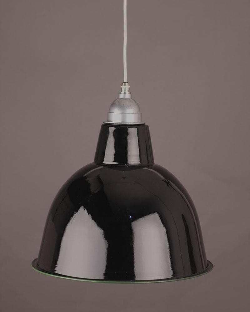 Enamel Pendant Light (black)