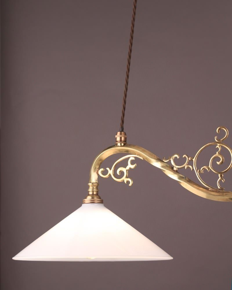 Good Quality Brass Double Rise And Fall Pendant Light