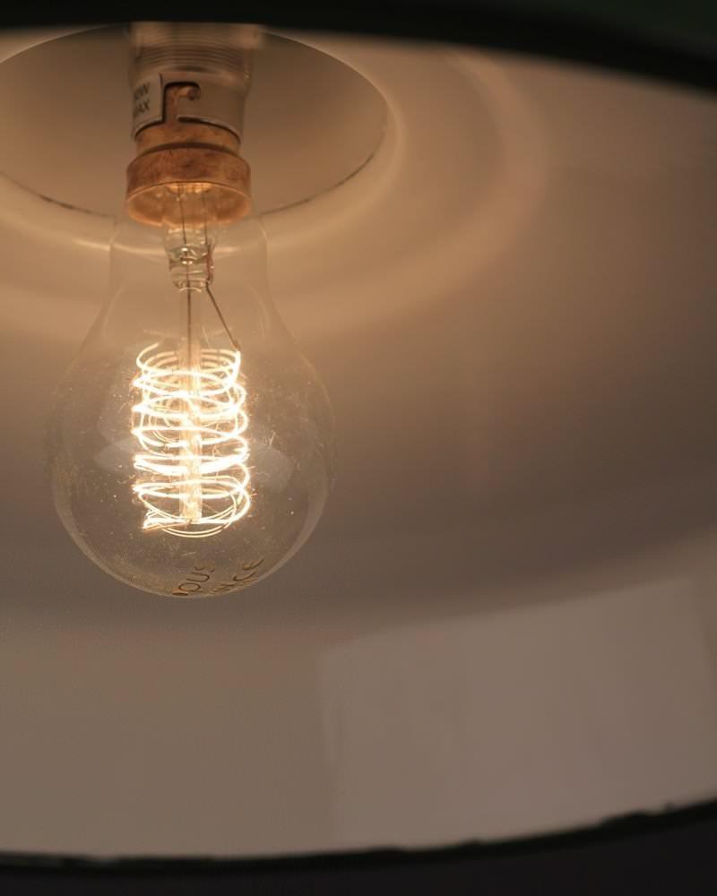 Industrial Pendant Light Green