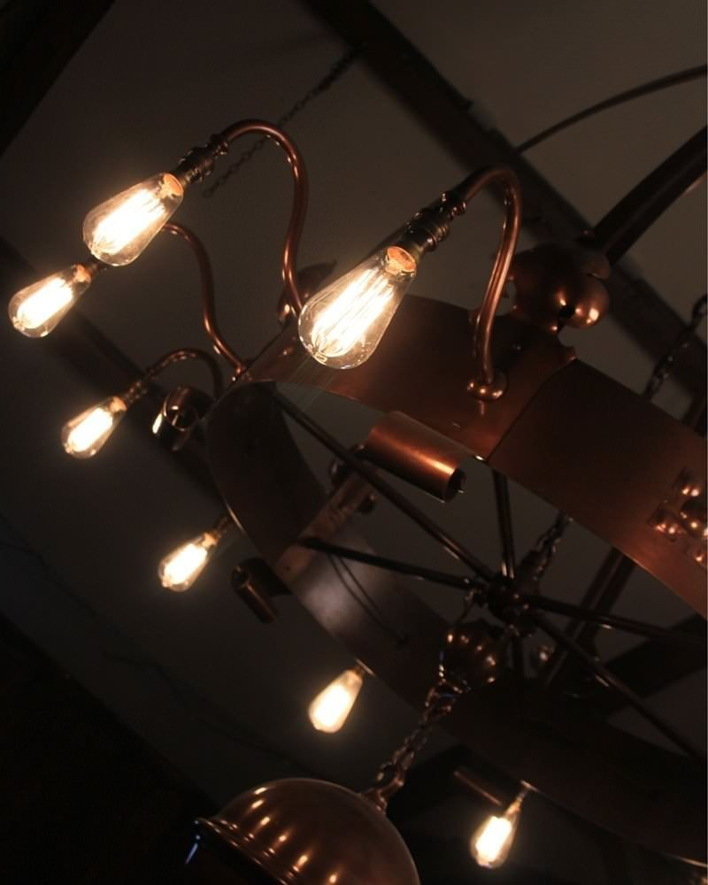 Branch Chandelier And Crafts Chandelier Large Ecclesiastical Arts And Crafts 12