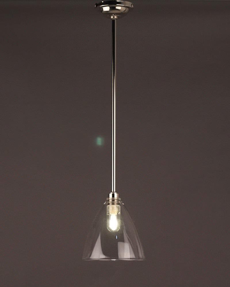 ledbury clear glass bathroom ceiling light fritz fryer