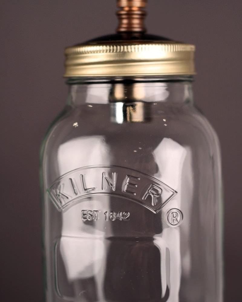 Upcycled Mason Jar Pendant Ceiling Lights Vintage Retro