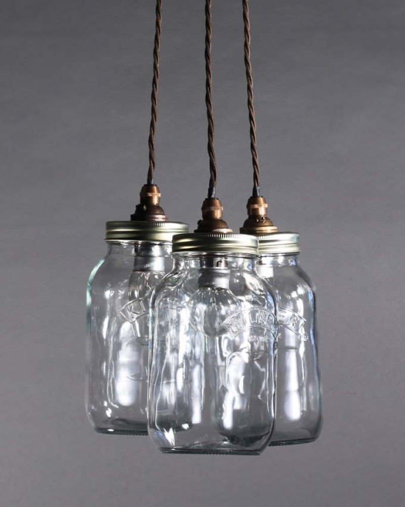 Stargaze Set Of 2 Hanging Mason Jar Pendant Lights By: Mason Jar Pendant Light