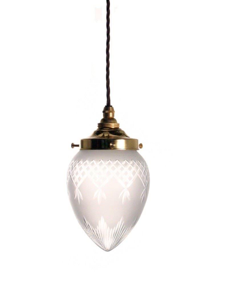 Penyard Cut Glass Pendant Light Fritz Fryer