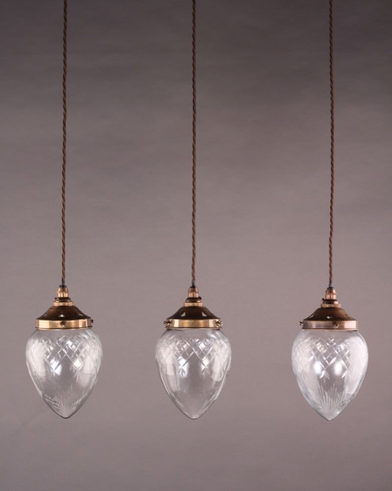 Penyard Cut Glass Pendant Light Fritz Fryer