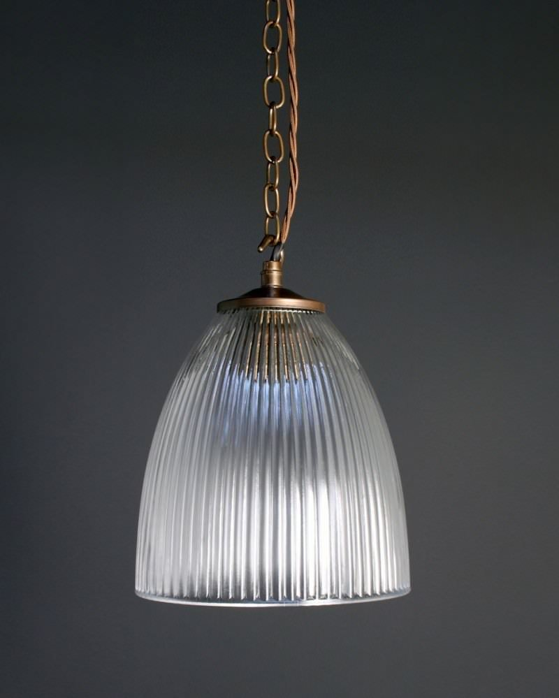 kitchen pendant lighting uk prismatic ribbed glass pendant ceiling light peterstow 5514