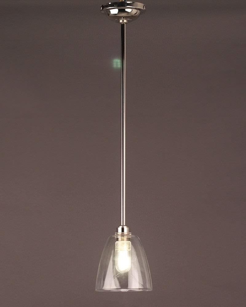Pixley Glass Bathroom Ceiling Light