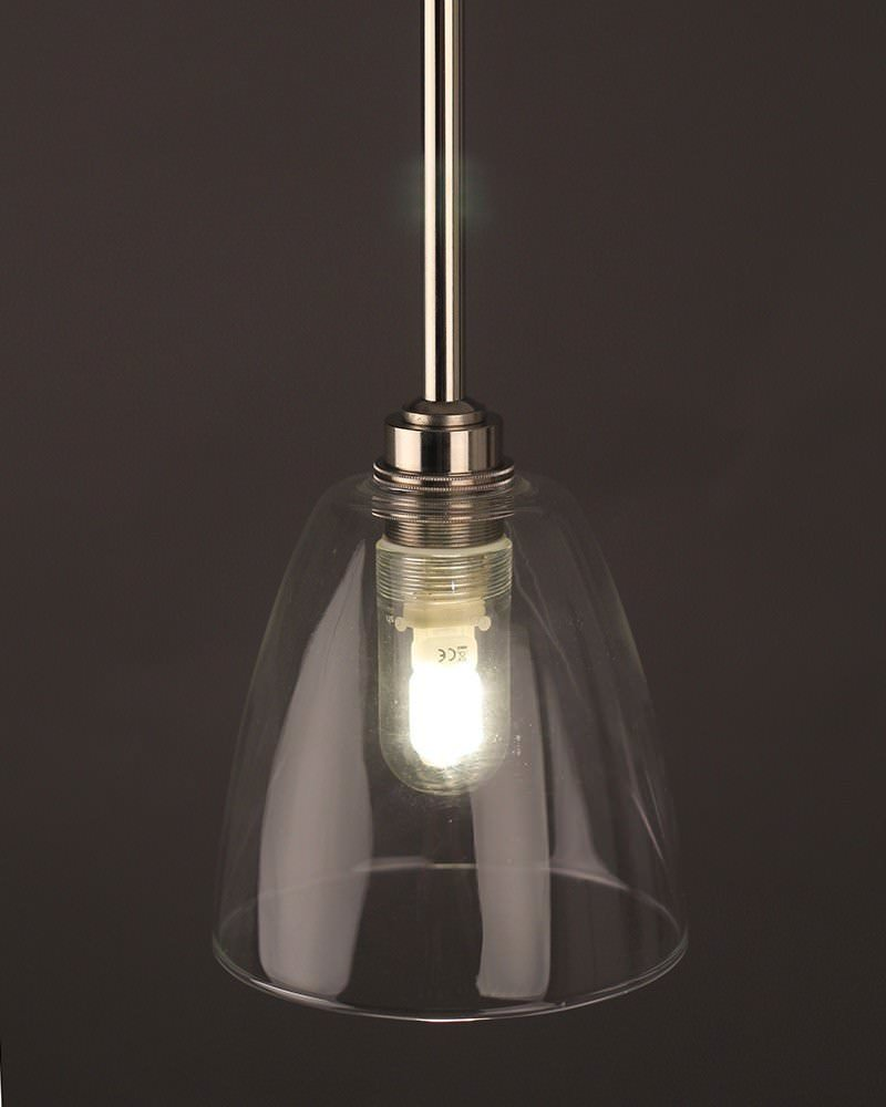 pendant bathroom light clear glass bathroom ceiling light pixley retro 13944