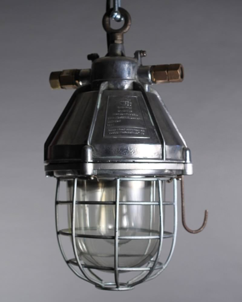 reclaimed industrial lighting. vintage lighting reclaimed industrial explosion proof lamps fritz fryer