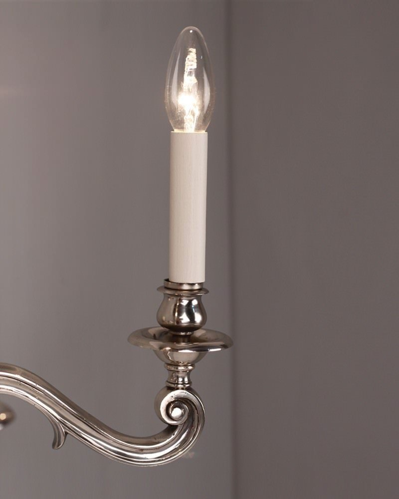 Wall Sconces Antique Silver : Antique Lighting, Set of 3 2 branch antique silver plated wall sconces