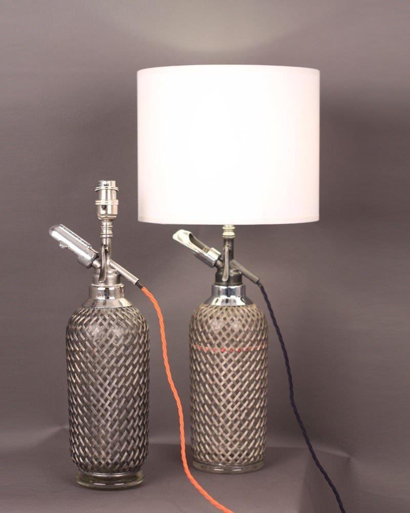 Soda Syphon Table Lamp Fritz Fryer