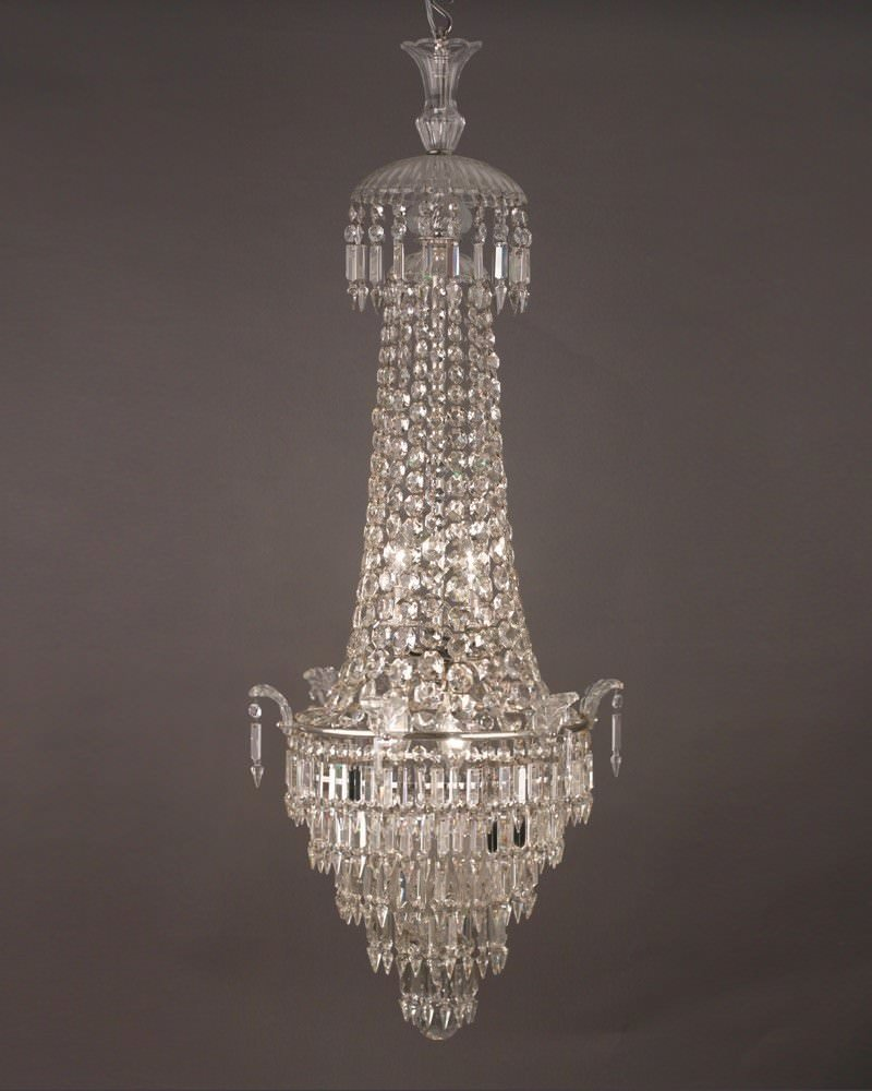 Stunning waterfall and bag bohemian crystal chandelier antique lighting aloadofball Gallery