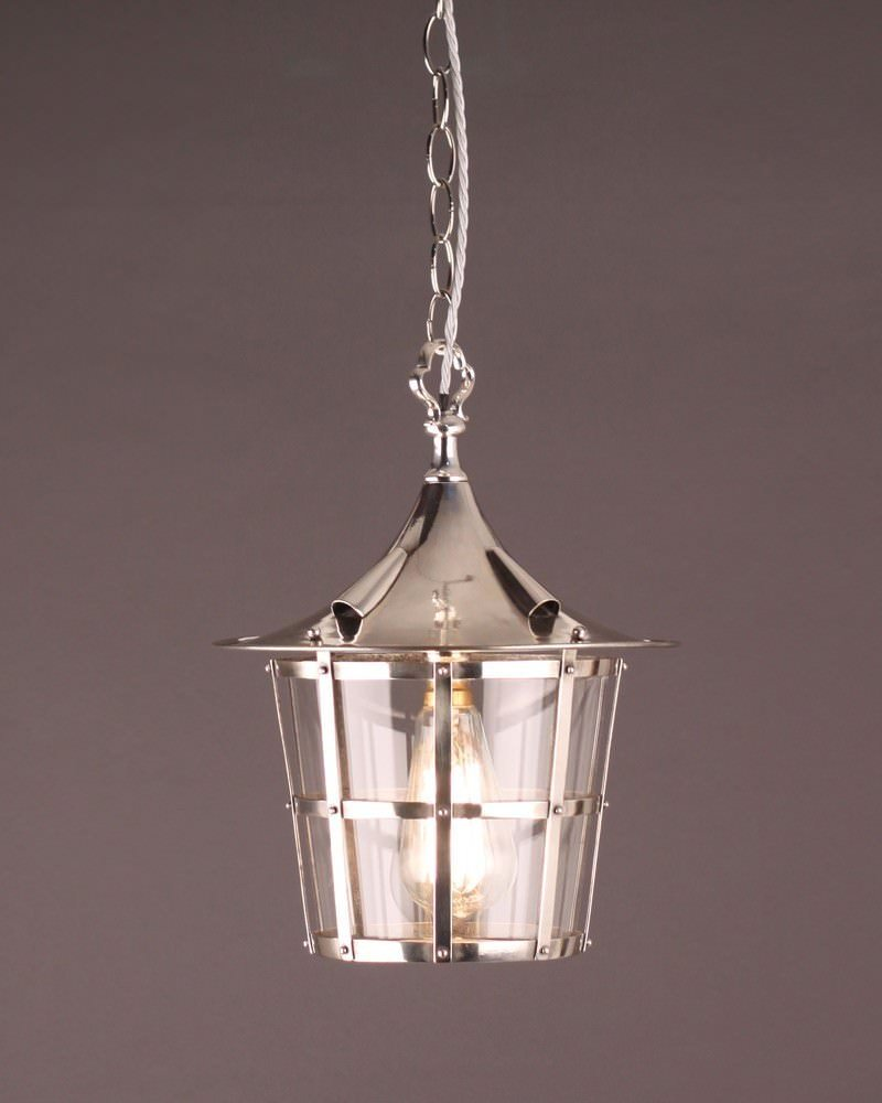 Superb Quality Silver Plate Arts And Crafts Lantern
