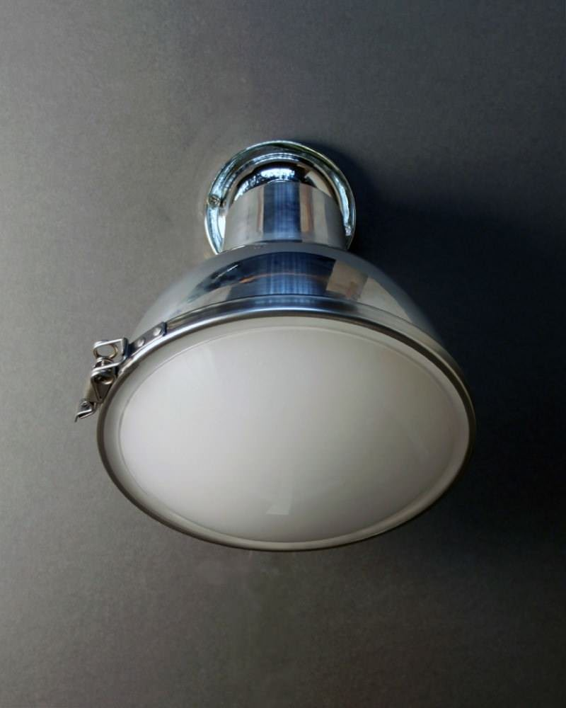 Spun Aluminium Spotlight, Sutton Industrial Retro Lighting