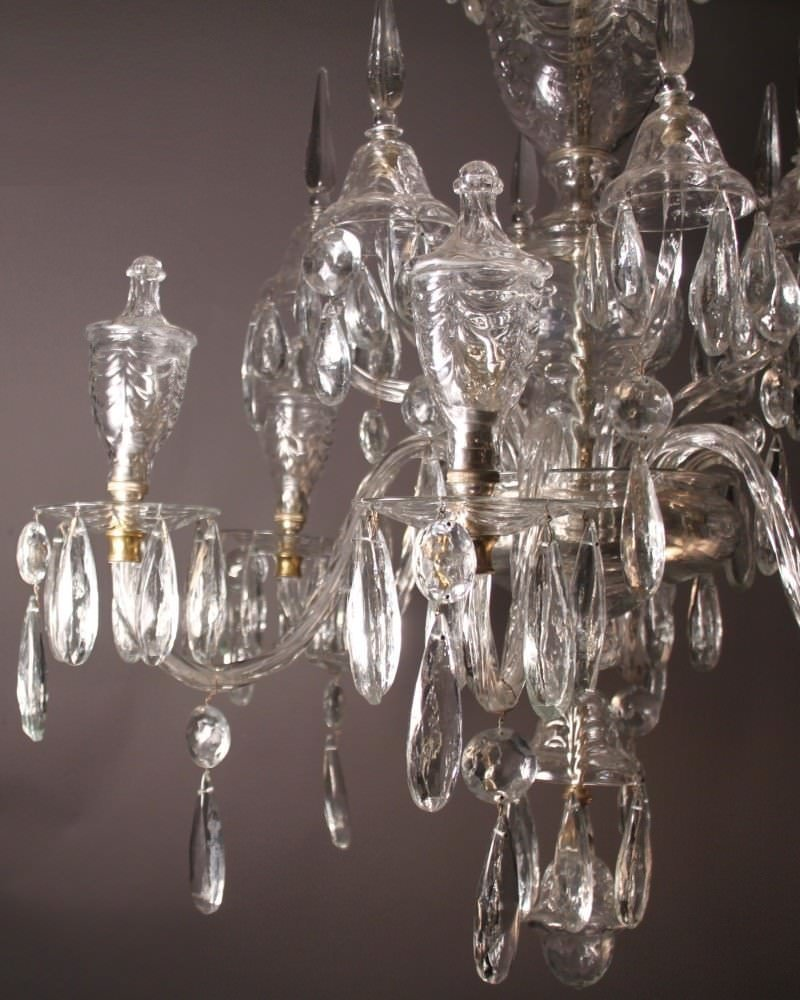 Unique Chandeliers Dining Room: Unique Antique Crystal Chandelier