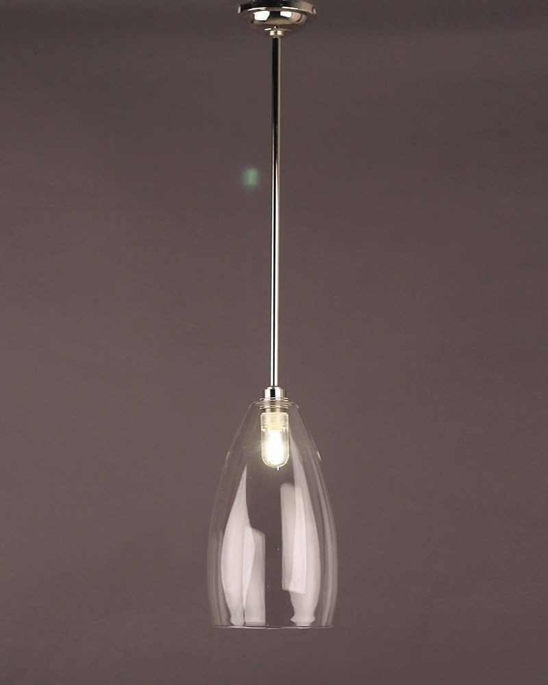 Bathroom Lights Ip44 bathroom light, upton clear glass bathroom ceiling light (ip44 rated)
