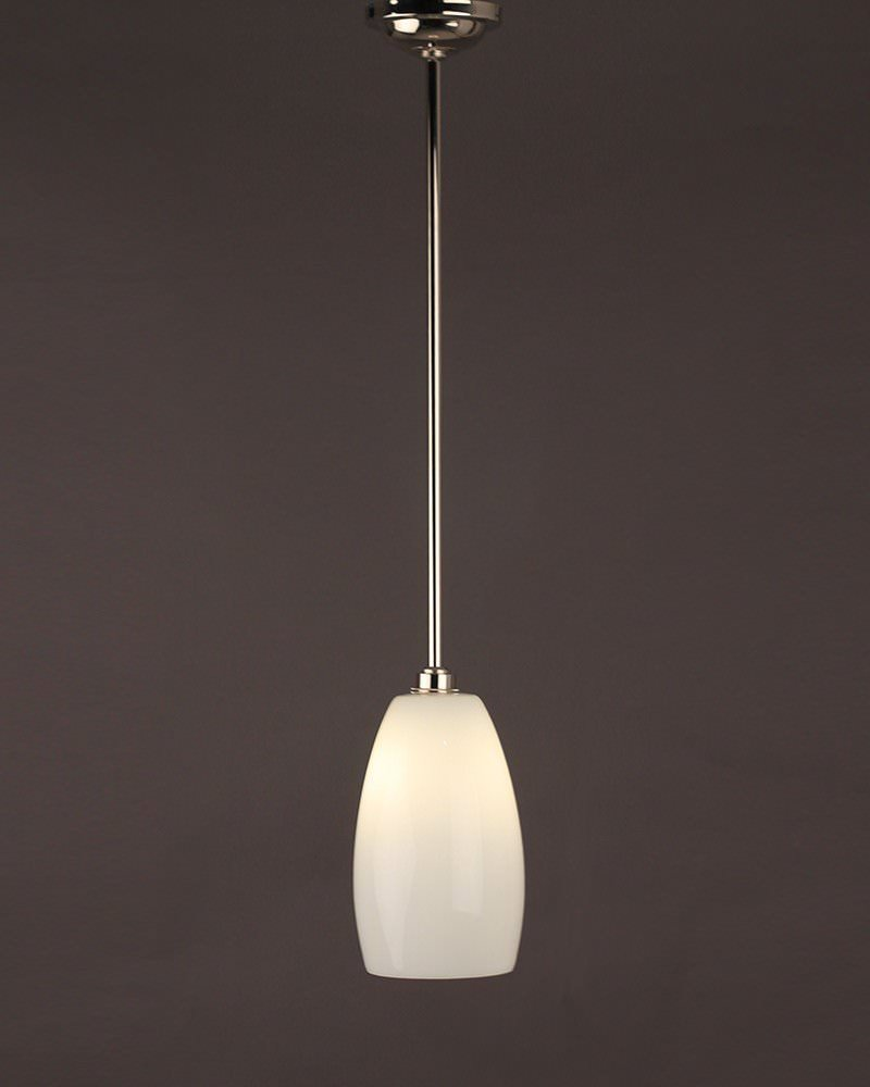 Ceramic pendant ceiling bathroom light upton retro for Contemporary bathroom ceiling lights