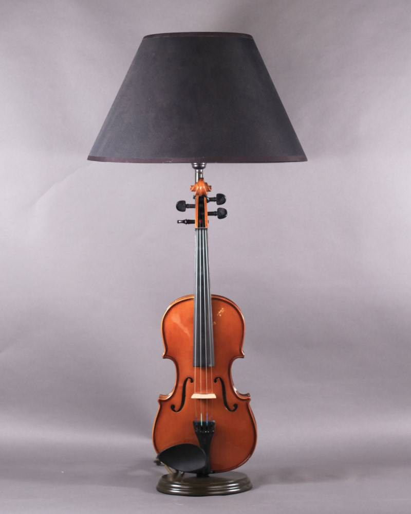 Quirky Violin Table Lamp