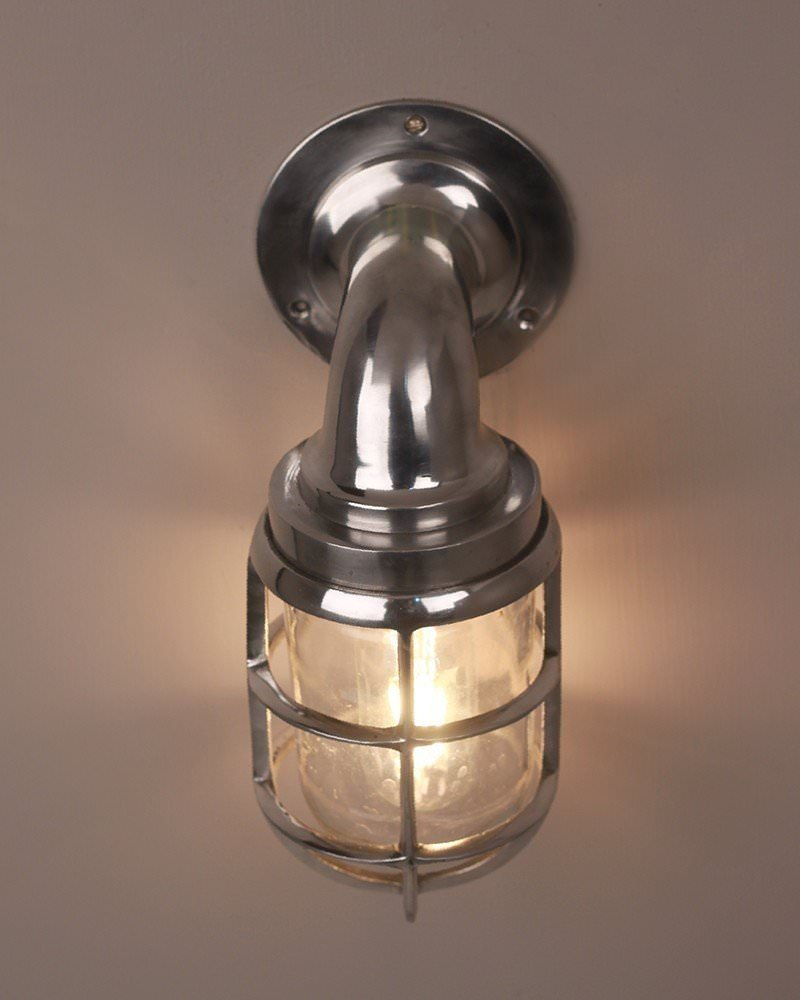 Industrial Aluminium Explosion Proof Passage Lamp, Vintage Industrial Lighting