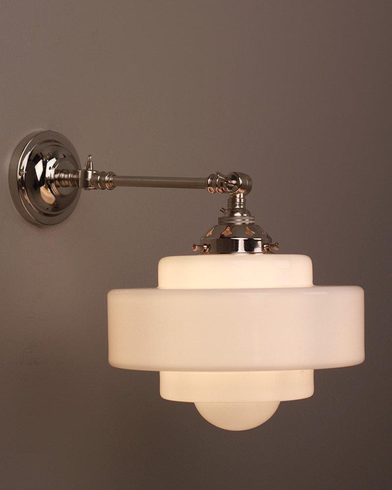 art deco lighting savoy art deco jelly mould reading light - Savoy Lighting