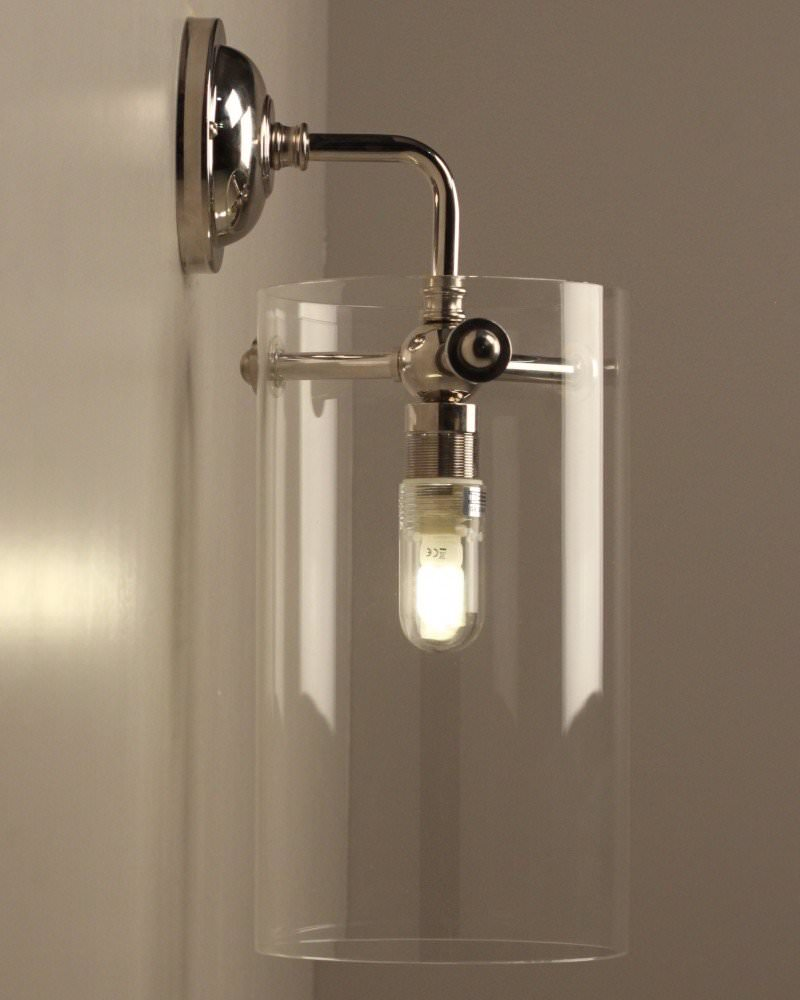 modern light fixtures bathroom clear glass sellack wall light retro industrial lighting 19612