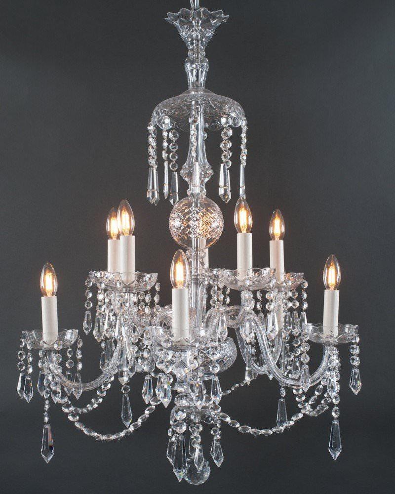Branch bohemian antique crystal chandelier antique lighting 10 branch bohemian antique crystal chandelier antique lighting arubaitofo Images