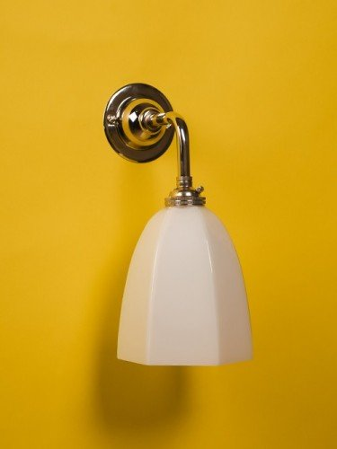 designer-lighting-industrial-wall-light-with-white-hexagonal-shade