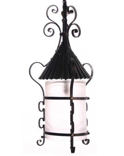 Iron Arts And Crafts Lantern, Antique Lighting