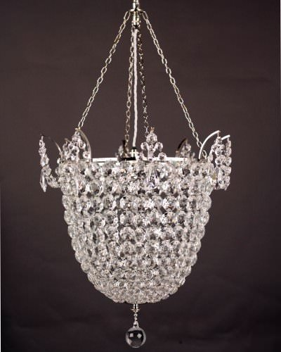 Hand made crystal chandelier