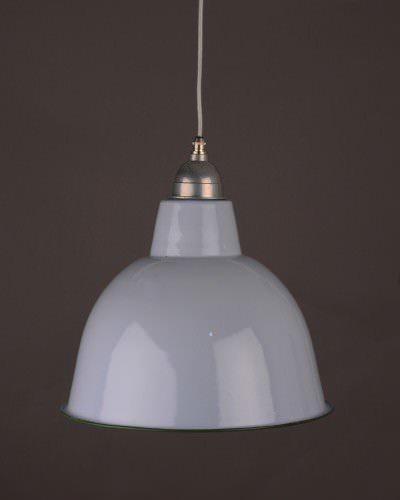 Grey enamal pendant ceiling light industrial retro lighting