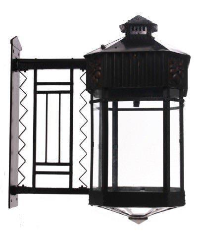 Large Pair Of Exterior Copper Antique Lanterns, Antique Lighting