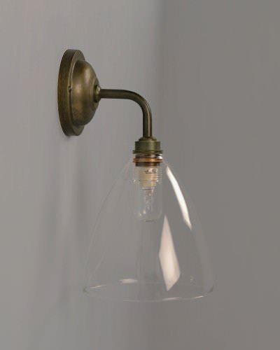 Fritz Fryer Contemporary bathroom wall Light