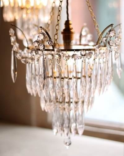 marcle crystal chandelier in antique brass size large