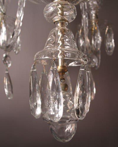 Antique Crystal Chandelier, Unique Antique Crystal Chandelier