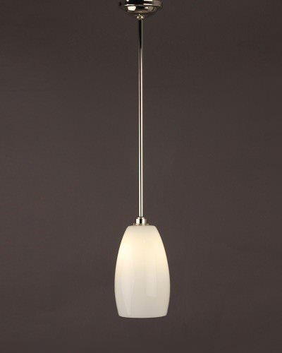 Ceramic Pendant Ceiling Bathroom Light, Upton Retro & Contemporary Design (Ip44 Rated)