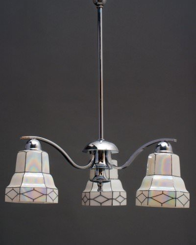 Art Deco Lighting Supplied And Beautifully Restored By Fritz Fryer