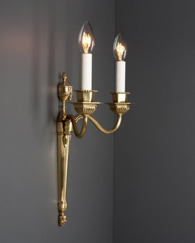 vintage-wall-sconces-brass-edwardian-wall-light-classical-style