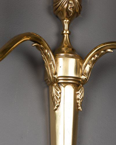 Antique-wall-sconces-brass-edwardian-wall-light-classical-style