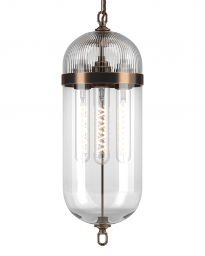 Aston Lantern with Skinny Ribbed Top
